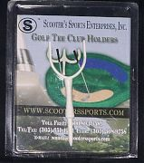 Golf Tee Club Holder